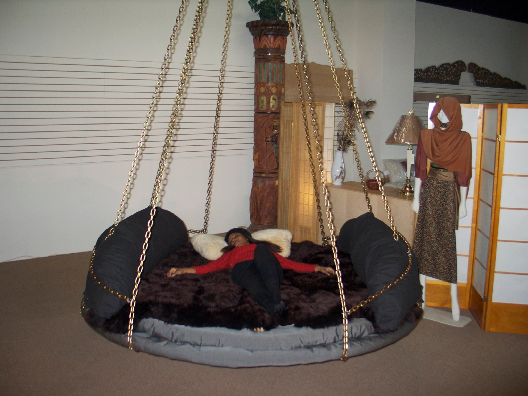 Optional Chain Cascade Support Lines The Floating Bed