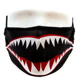 Fydelity Premium Protective Fabric Face Covering Mask - Flying Tiger Black