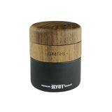 RYOT Wood GR8TR with Matte Black Jar Body