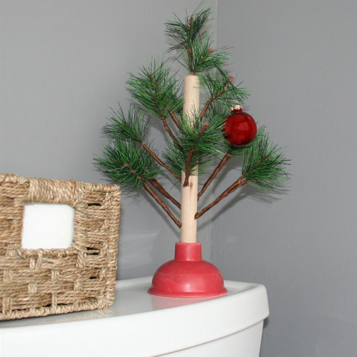 Redneck Plunger Christmas Tree - It's Okay To Be Weird