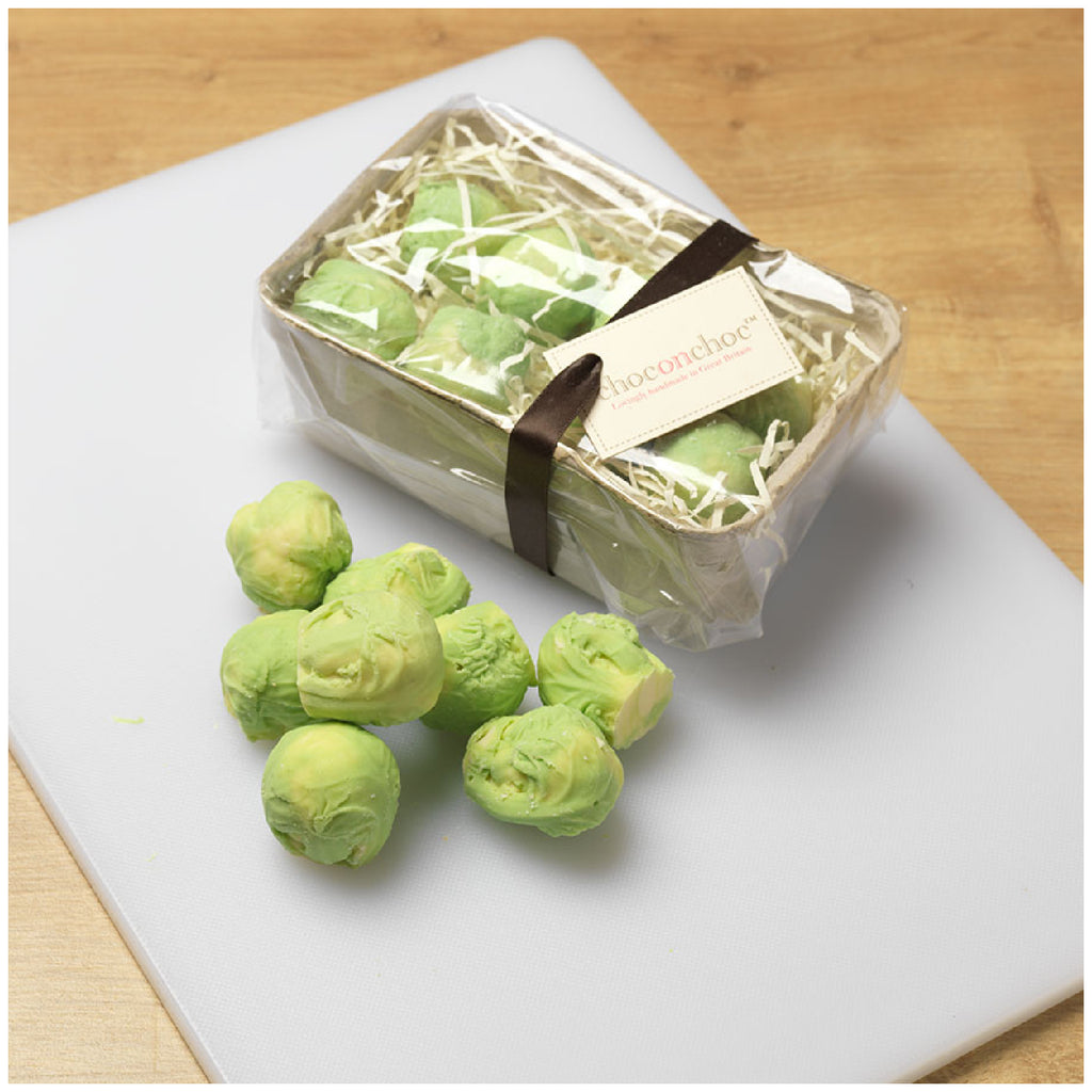 Handmade Belgium Chocolate Sprouts - It's Okay To Be Weird
