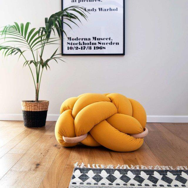 Knot Floor Cushion - It's Okay To Be Weird