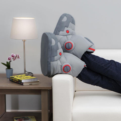 Giant Robot Slippers with Sound - It's Okay To Be Weird