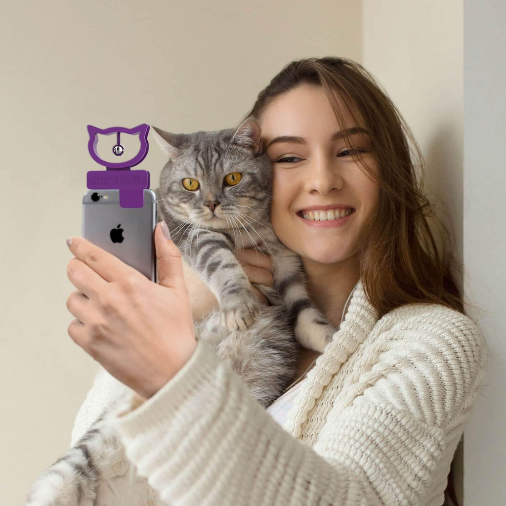 Cat Selfie Phone Attachment - It's Okay To Be Weird