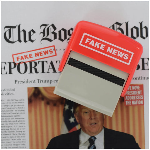 The Fake News Stamp - It's Okay To Be Weird
