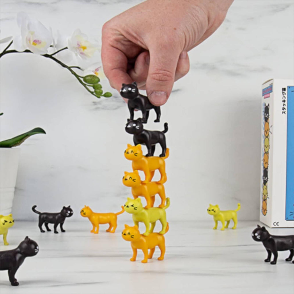 Cat-astrophe Stacking Game - It's Okay To Be Weird