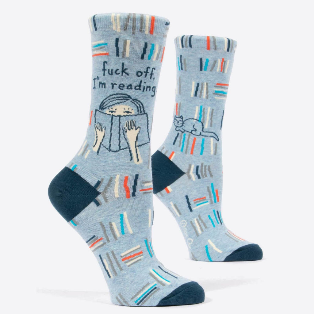 F*ck Off Im Reading Socks - It's Okay To Be Weird