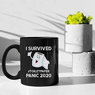I Survived The Toilet Paper Panic of 2020 Mug - It's Okay To Be Weird