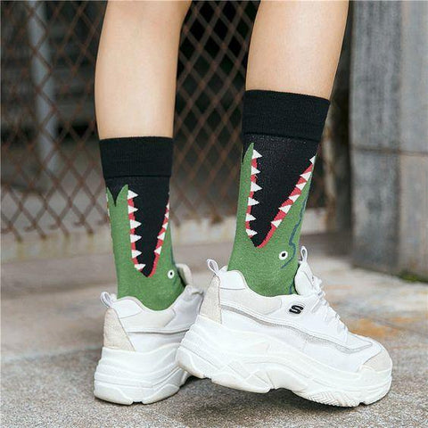 Alligator Socks - It's Okay To Be Weird