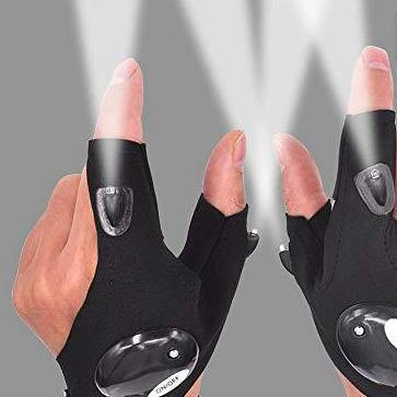 LED Flashlight Gloves - It's Okay To Be Weird