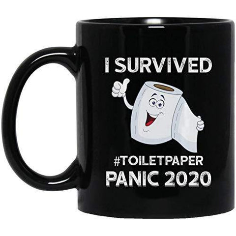 I Survived The Toilet Paper Panic of 2020 Mug