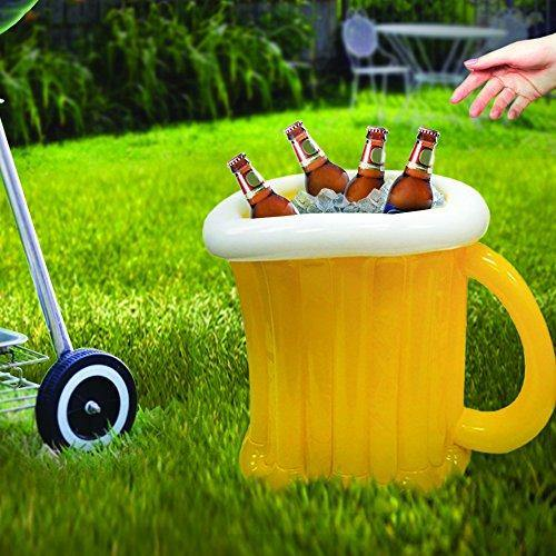 Inflatable Beer Mug Cooler - It's Okay To Be Weird
