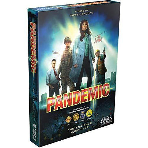 Pandemic The Board Game - It's Okay To Be Weird