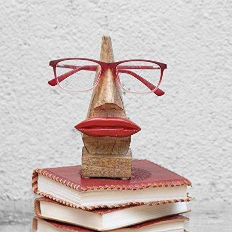 Quirky Nose Shaped Eyeglasses Holder
