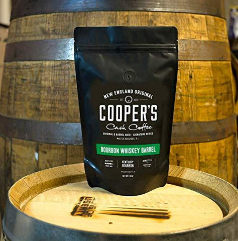 Bourbon Whiskey Barrel Aged Coffee