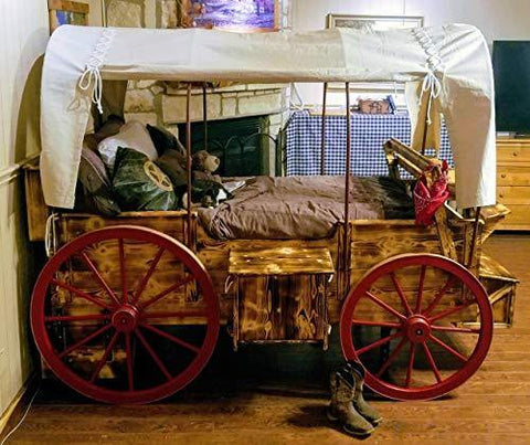 Goodnight Pioneer Wagon Twin Bed