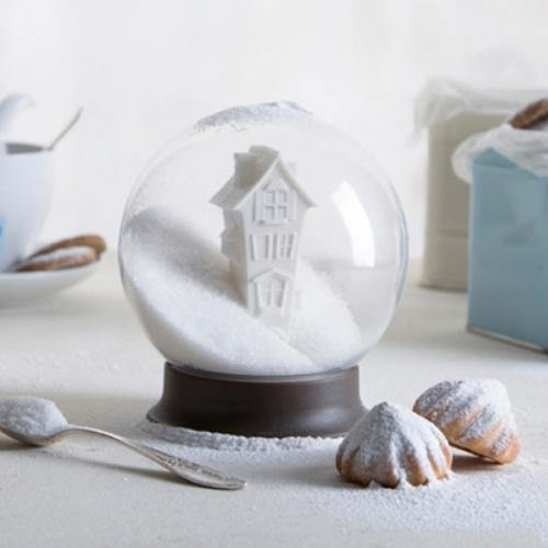 Sugar Bowl Snow Globe - It's Okay To Be Weird