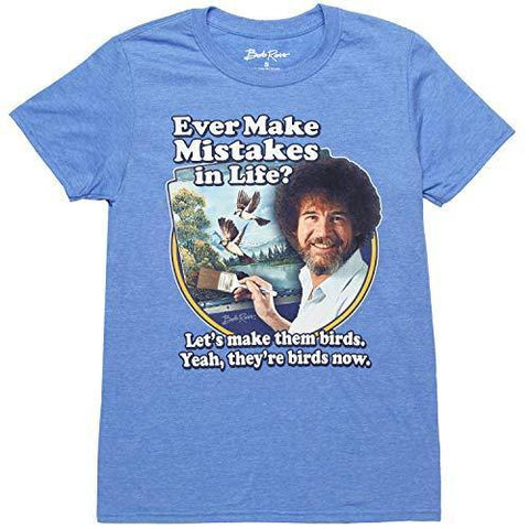 Bob Ross Let's Make Them Birds T-Shirt