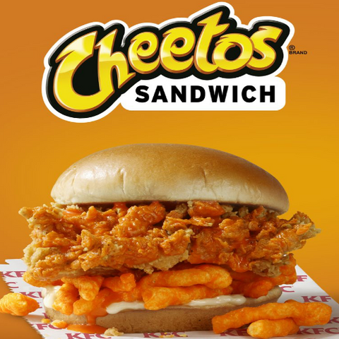 Limited Edition Cheetos Sandwich