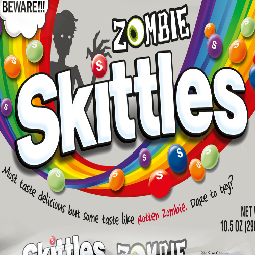 Zombie SKITTLES - It's Okay To Be Weird