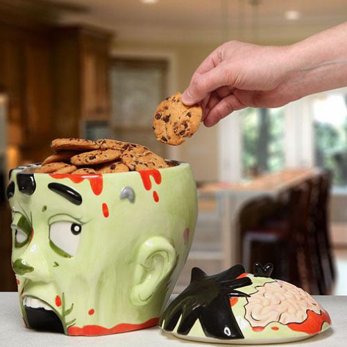 Zombie Head Cookie Jar - It's Okay To Be Weird