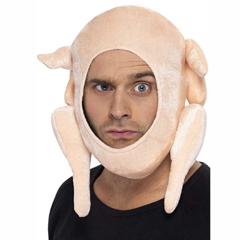 Stuffed Turkey Hat - It's Okay To Be Weird