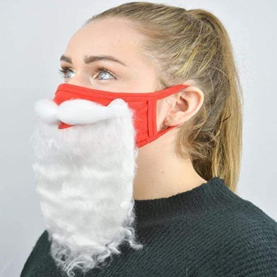 Santa Beard Face Masks