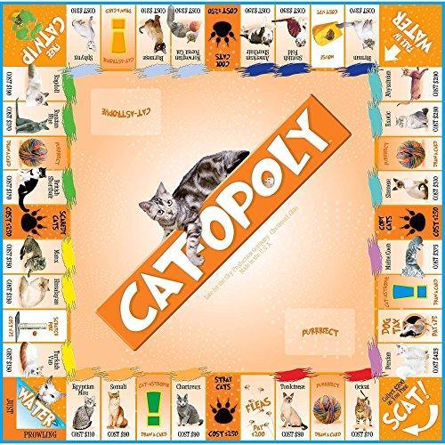 CAT-opoly Board Game - It's Okay To Be Weird