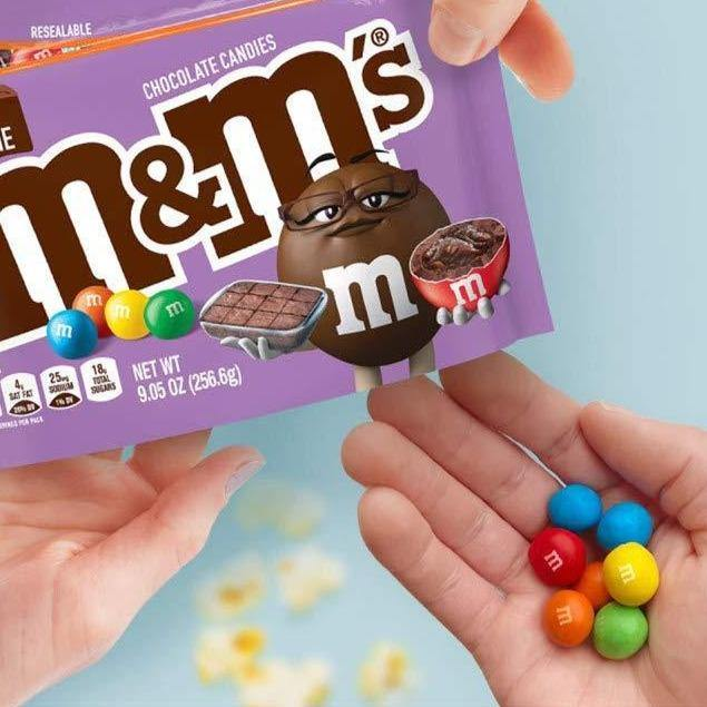M&M'S Fudge Brownie - It's Okay To Be Weird