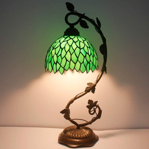 Green Wisteria Lamp