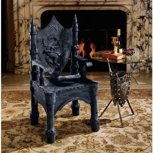Castle Throne Chair - It's Okay To Be Weird
