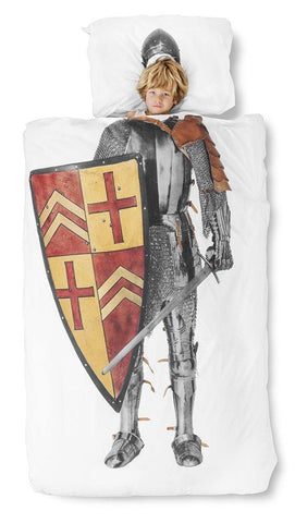 Medieval Knight Duvet Cover and Pillowcase