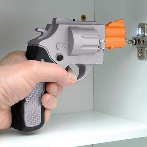 Revolver Shaped Electric Screwdriver Gun - It's Okay To Be Weird