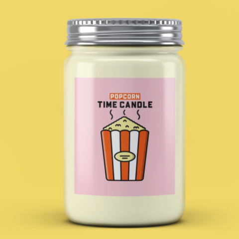 Popcorn Time Candle - It's Okay To Be Weird