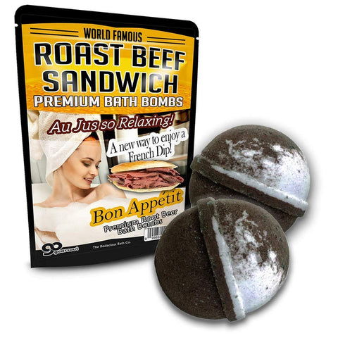 Roast Beef Sandwich Bath Balls - It's Okay To Be Weird