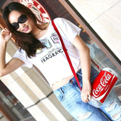 Coca Cola Bottle Shaped Crossbody Bag - It's Okay To Be Weird