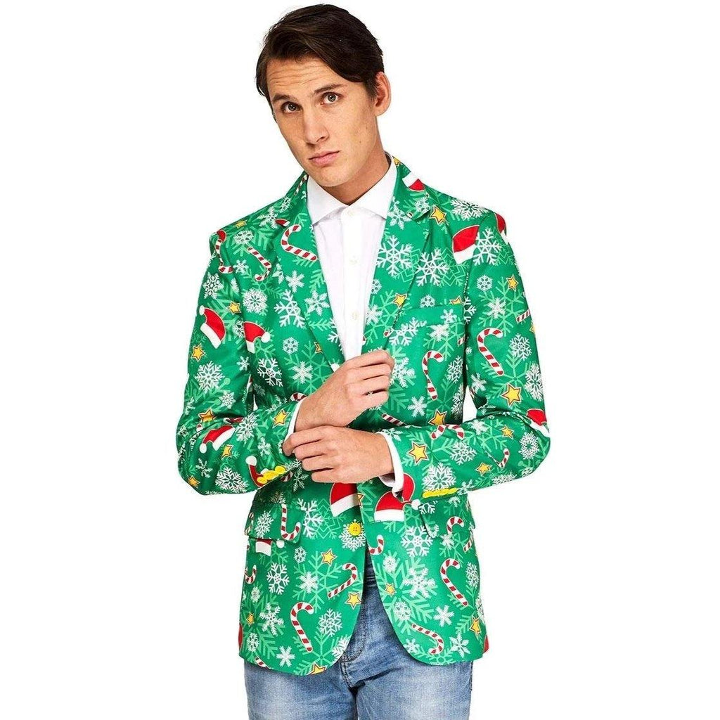 Ugly Christmas Blazer - It's Okay To Be Weird