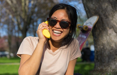 Banana Shaped Phone