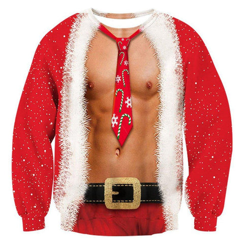 Funny Muscle Christmas Sweater