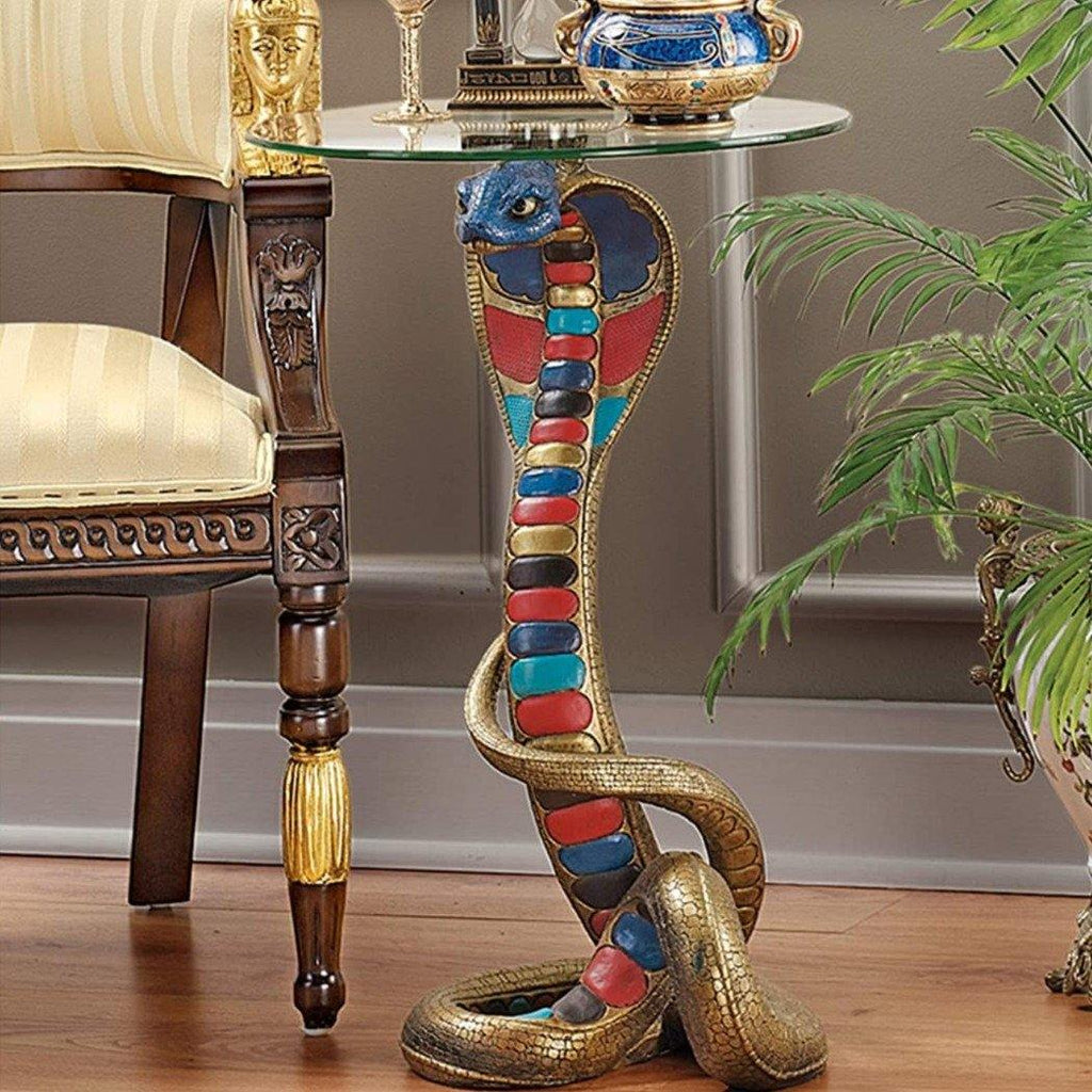 Cobra Snake Side Table - It's Okay To Be Weird