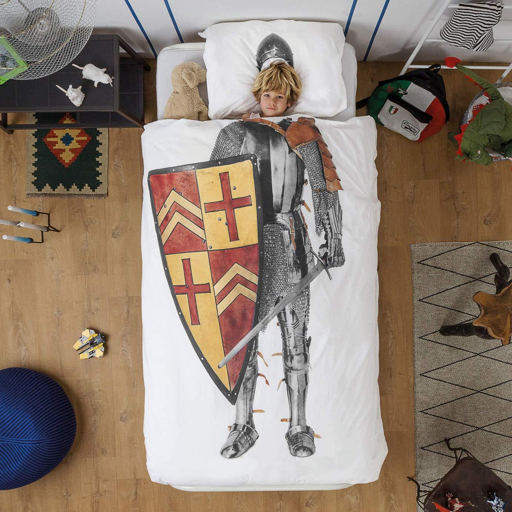 Medieval Knight Duvet Cover and Pillowcase - It's Okay To Be Weird
