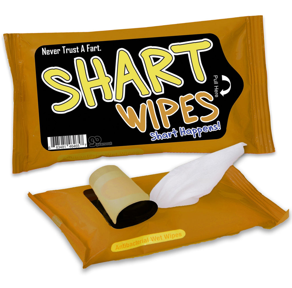 I Sharted Wipes - It's Okay To Be Weird