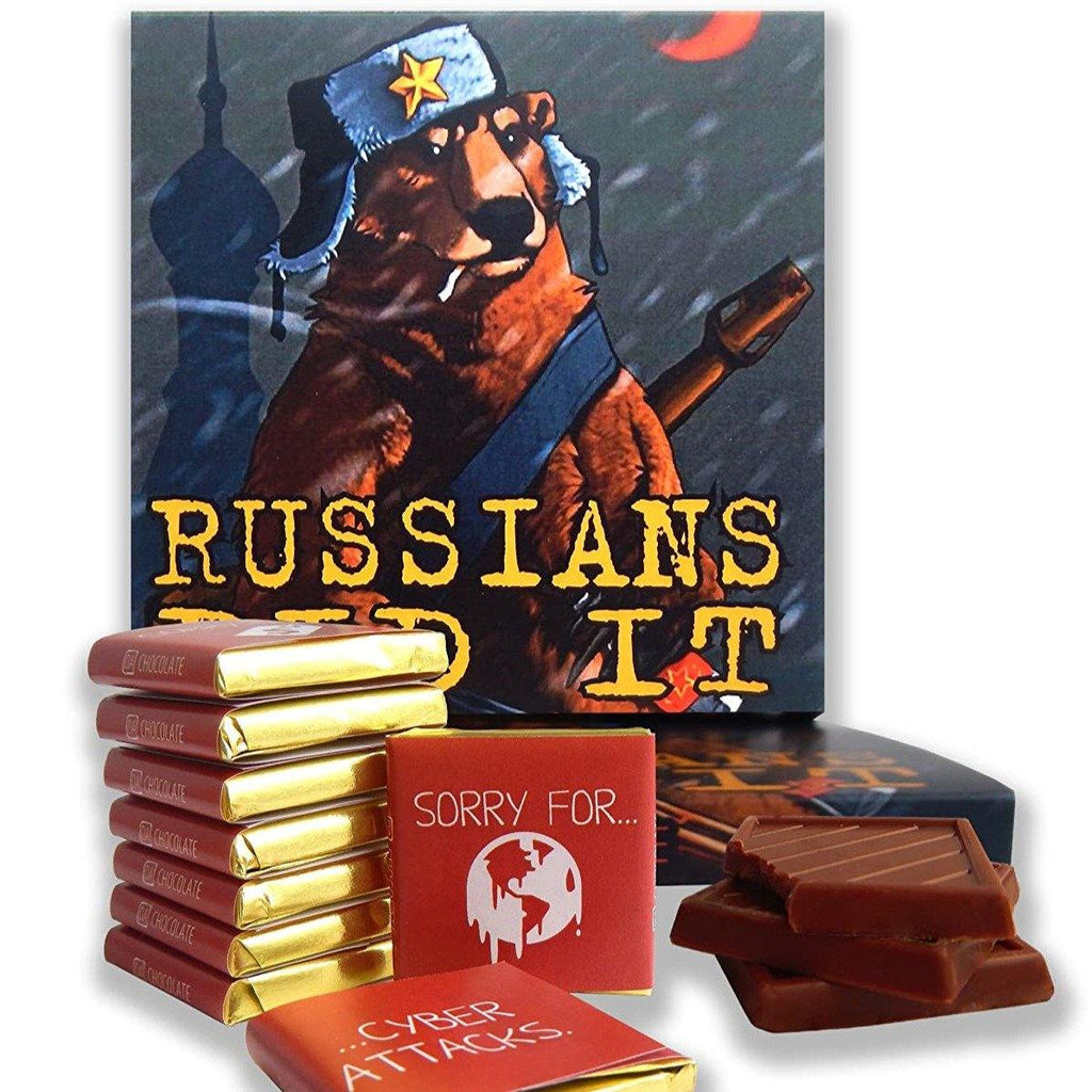 The RUSSIANS DID IT Chocolate