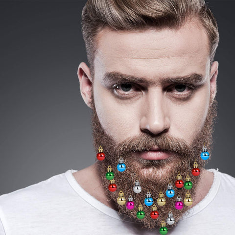 Christmas Beard Ornaments