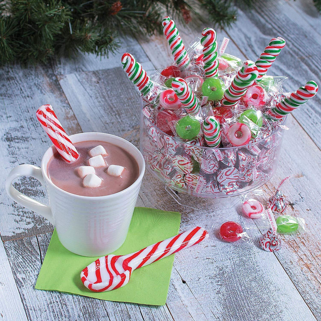 Candy Cane Spoons - It's Okay To Be Weird