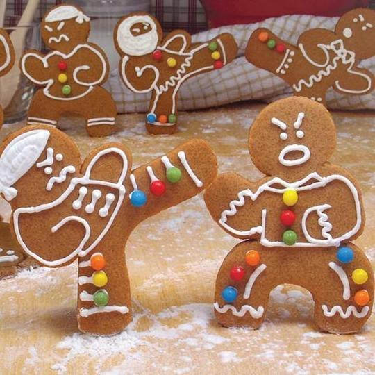 Ninja Gingerbread Cookie Kit - It's Okay To Be Weird
