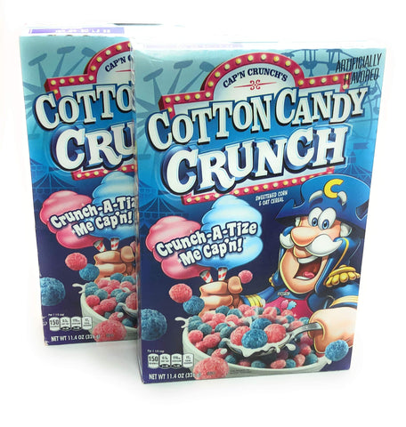 Capn Crunch Cotton Candy Cereal