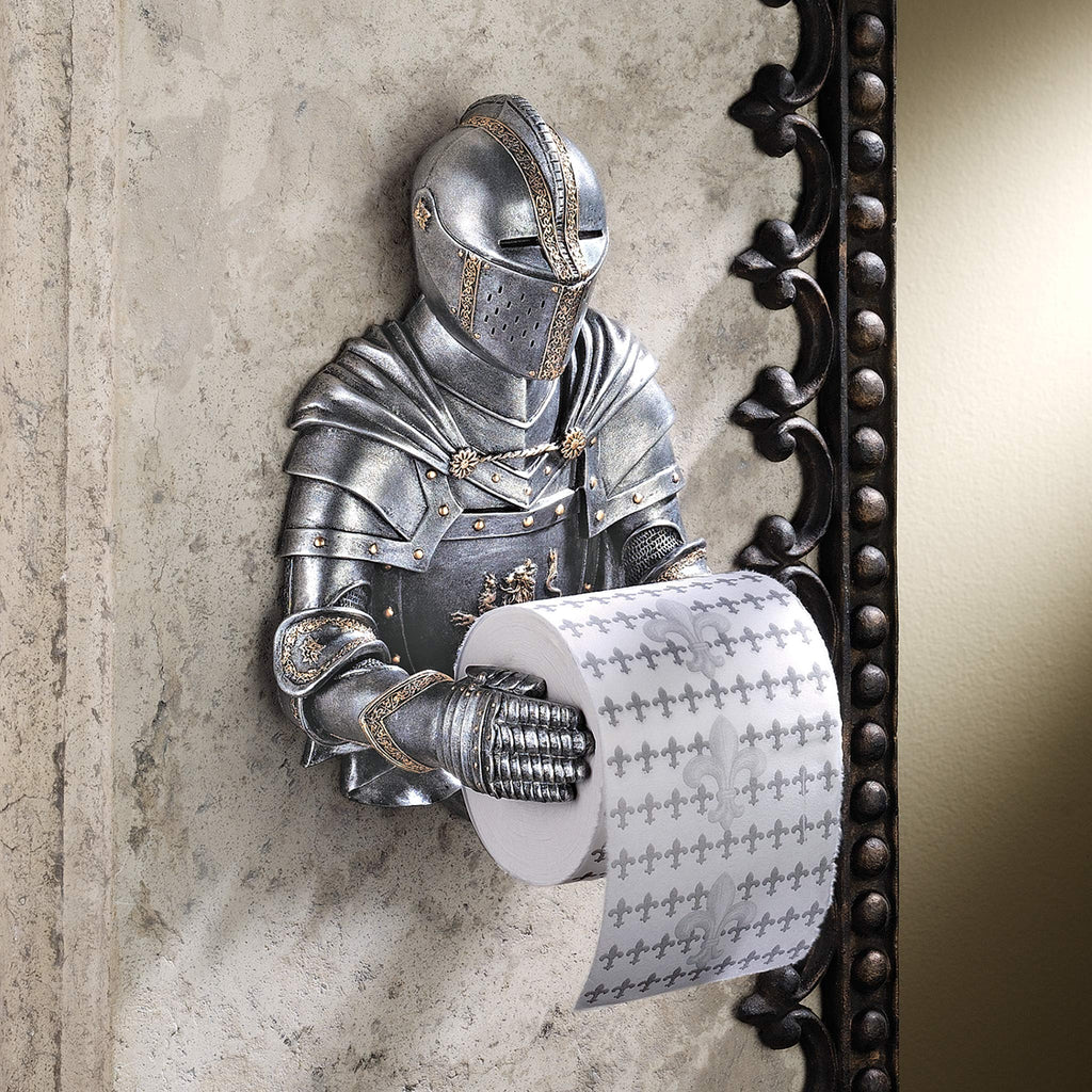 Medieval Knight Toilet Paper Holder - It's Okay To Be Weird