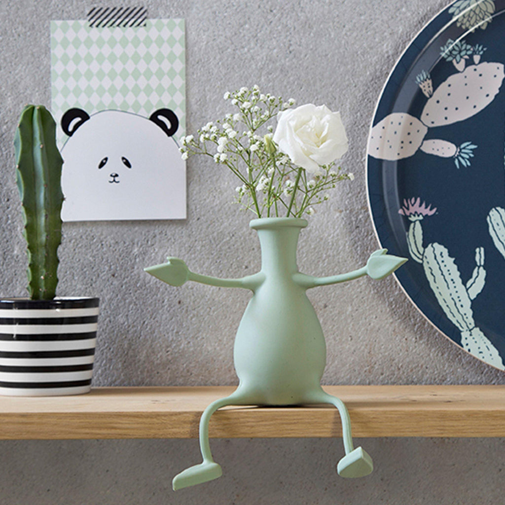 Friendly Flower Vase - It's Okay To Be Weird
