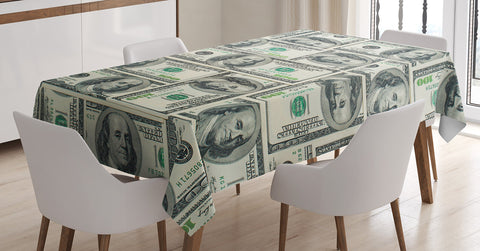 Money Tablecloth